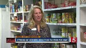 GM workers turn to food pantries, as UAW strike lingers [Video]