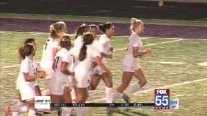 High School Girls Soccer: Blackhawk, Dwenger Advance in Sectionals [Video]