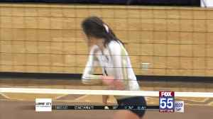 High School Volleyball: Dwenger Tops Concordia for Third Straight SAC Crown [Video]