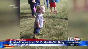 Family grieves loss of 13-month-old baby [Video]