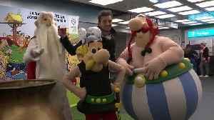 Next stop, Place De Clichix: Paris metro stations renamed for Asterix [Video]
