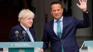 News video: Boris Johnson and Leo Varadkar to meet in last roll of Brexit dice