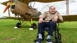 Up, Up, & Away! 83 Year-Old Royal Air Force Hero Gets To Have  Final Flight In A WW2 Era Plane! [Video]