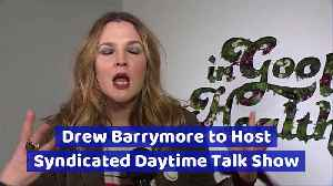 Drew Barrymore to Host Syndicated Daytime Talk Show [Video]