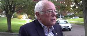Bernie Sanders speaks out about health scare [Video]