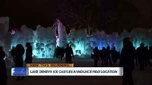 Lake Geneva Ice Castles announce new location [Video]