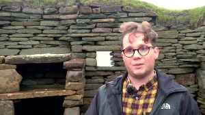 Climate change erodes Scottish history [Video]