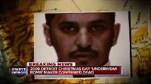 2009 Detroit Christmas Day bombmaker dead, White House confirms [Video]