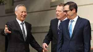 News video: China, U.S. Aim For Smaller Deals As Trade Talks Restart