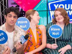 Never Have I Ever With Noah Centineo, Shannon Purser, & Kristine Froseth [Video]