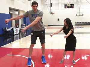 Shooting Hoops & Flossing with L.A. Clippers' Boban Marjanović [Video]