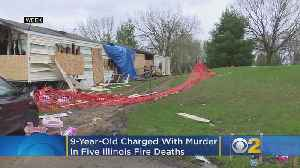 9-Year-Old Charged With Murder In 5 Illinois Fire Deaths [Video]