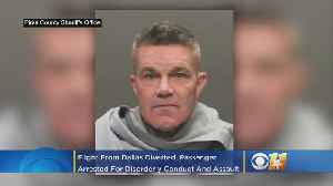 Southwest Airlines Flight From Dallas Diverted, Passenger David Broseh Arrested For Disorderly Conduct And Assault [Video]