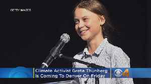 News video: Climate Activist Greta Thunberg Is Coming To Denver On Friday