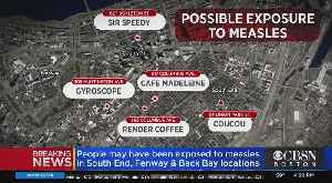 News video: Boston Health Commission Director Urges Those Who May Have Been Exposed To Measles To See PCP