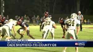 Tri-County's Cade Shepherd is the Blitz 16 Player Of The Week [Video]