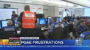 Bay Area Customers Facing Frustrations With PG&E Power Shutdown [Video]