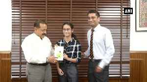 Jitendra Singh releases book on Article 370 written by 14yr old girl [Video]