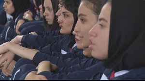News video: Taking back what's ours': Iran's women to attend historic match