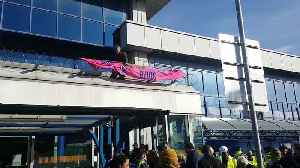 Extinction Rebellion protesters arrested as they attempt to shut down London City Airport [Video]