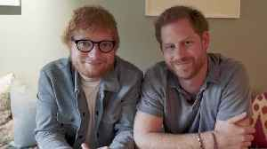 Duke of Sussex and Ed Sheeran join forces for World Mental Health Day [Video]