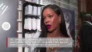 Rihanna is her own muse [Video]