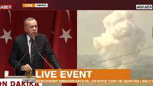 News video: Watch: Erdogan defends Turkey's motivation for Syria operation