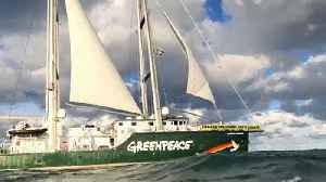 A night aboard the Rainbow Warrior [Video]