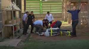 Turkey: Civilians rushed to hospital as bombing rains down [Video]