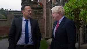 Johnson and Varadkar 'see a pathway' to possible Brexit deal [Video]