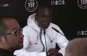 News video: Kipchoge compares sub-two hour marathon to going to the moon