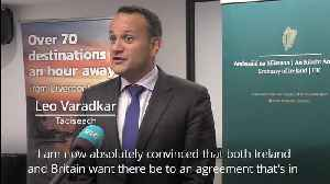 Varadkar says he can 'see pathway' to Brexit deal after talks with Boris Johnson [Video]