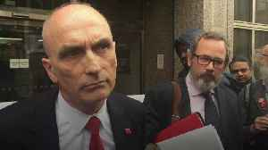 News video: Chris Williamson statement after losing legal challenge against the Labour Party
