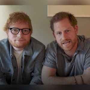 Prince Harry and Ed Sheeran team up for #mentalillnessawarenessweek [Video]