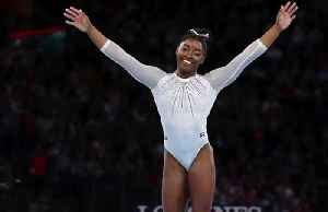 News video: Biles by miles: Gymnast Simone Biles claims record 5th world title