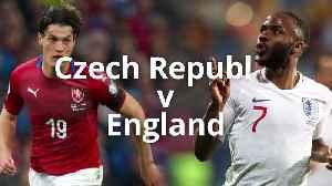 News video: England v Czech Republic: Euro 2020 qualifier preview