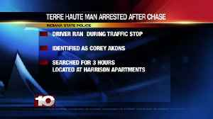Terre Haute man arrested after chase [Video]
