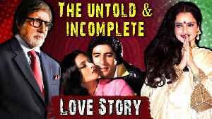 Amitabh Bachchan And Rekha MEMORABLE Love Story & Breakup | Birthday Special Big B [Video]