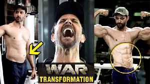 Hrithik Roshan SHOCKING Fat To Fit TRANSFORMATION For WAR Movie | Tiger VS Hrithik [Video]