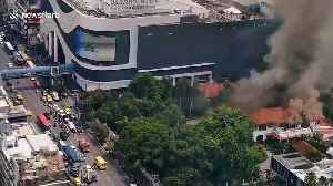Firefighters battle flames ripping through Indonesian Embassy in Bangkok [Video]