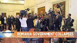 Political horse-trading as parties jostle to form Romania's next government [Video]