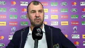 Cheika's funny response to tactical kicking question [Video]