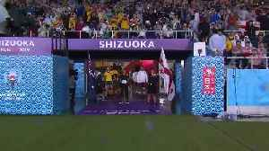 Teams walk out [Video]