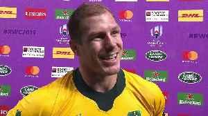 David Pocock post match interview [Video]