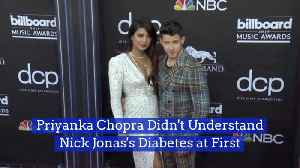 Priyanka Chopra Was Worried About Nick Jonas's Diabetes [Video]