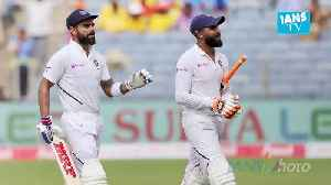 News video: Kohli double ton, pacers help India remain in driver's seat