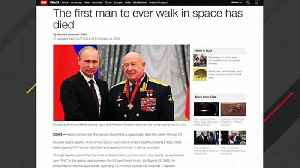 Alexei Leonov, First Man To Ever Walk In Space, Dies At 85 [Video]