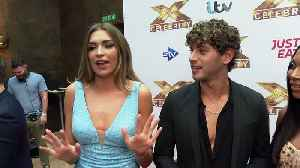 Love Islanders share details of X-Factor journey [Video]