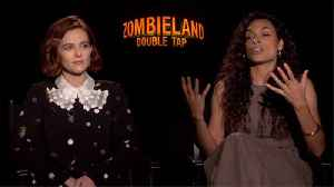 'Zombieland: Double Tap': Zoey Deutch And Rosario Dawson [Video]