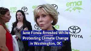 Jane Fonda Arrested While Protesting Climate Change in Washington, DC [Video]